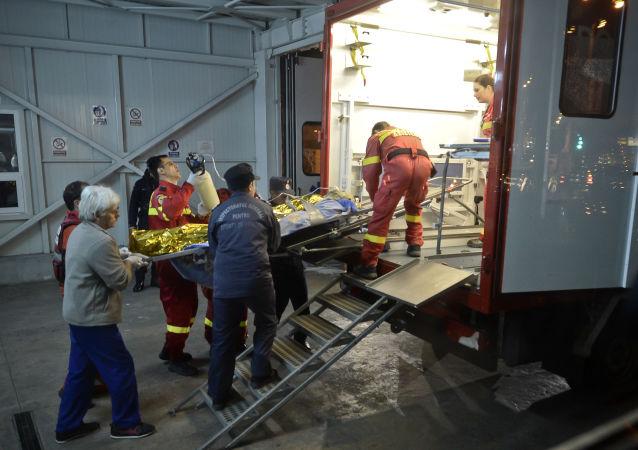 罗马尼亚收治新冠病毒感染患者的医院火灾致10名使用呼吸机的病人死亡