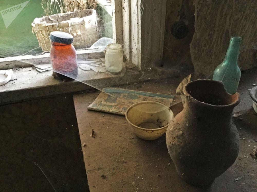 波列斯基辐射生态区内废弃的房子
