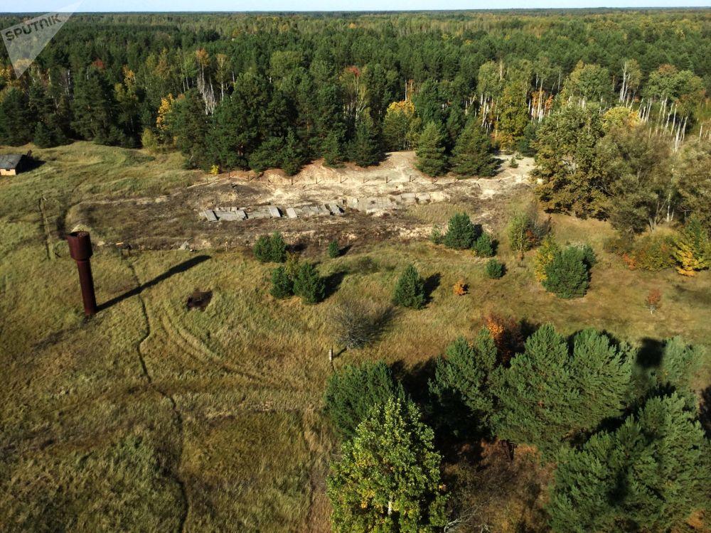 """波列斯基辐射与生态区内""""马萨内""""科研站的放射废弃物掩埋地"""