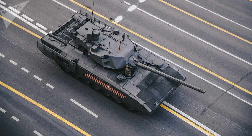《国家利益杂志》评出五款俄罗斯最佳坦克