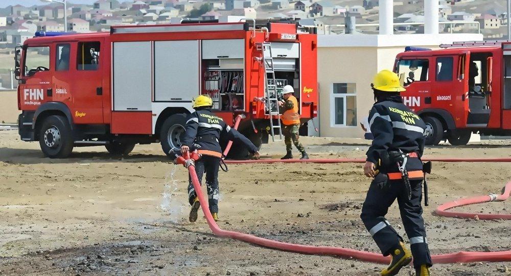 阿塞拜疆消防队员