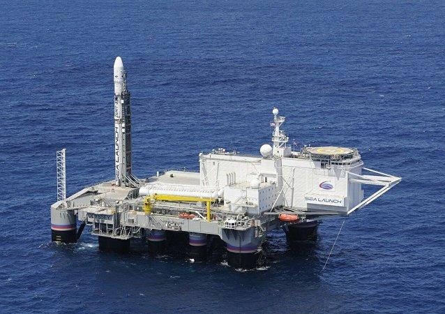 """""""海上发射""""项目浮动航天发射平台"""
