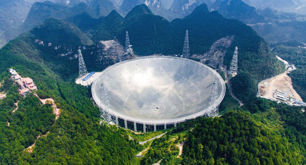 """""""中国天眼""""FAST望远镜开启地外文明搜索"""