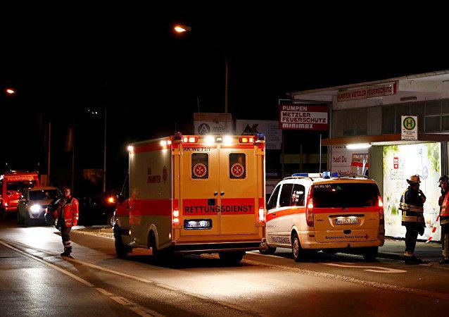 德国救护车