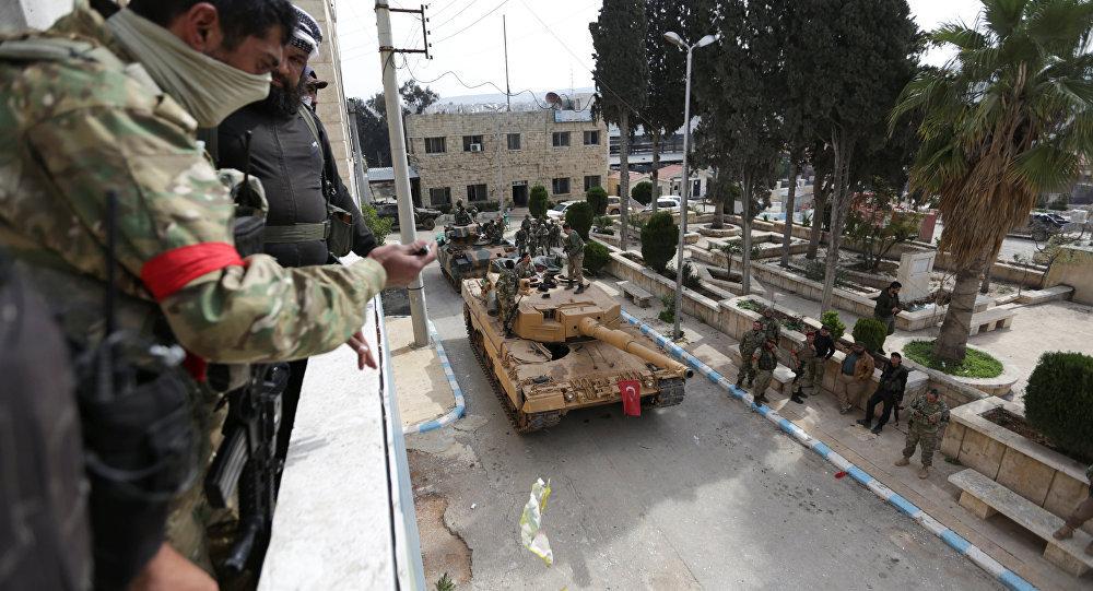 土耳其军队在叙利亚
