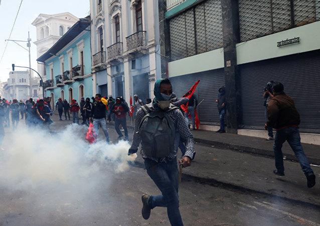 厄瓜多尔抗议活动