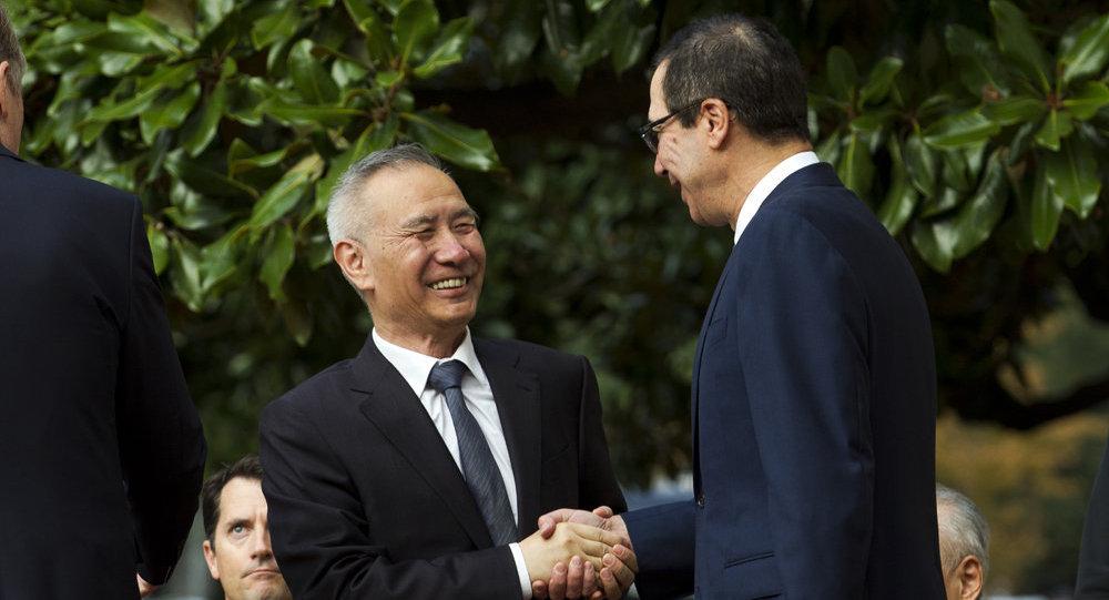 Торговые переговоры между Китаем и США