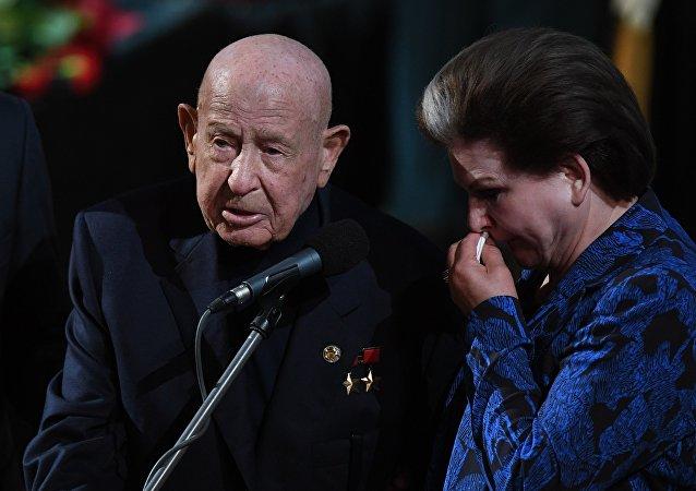 宇航员培训中心新闻处发布消息称,苏联宇航员阿列克谢·列昂诺夫去世