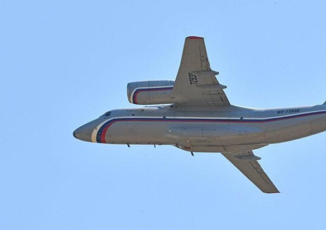 安-72飞机