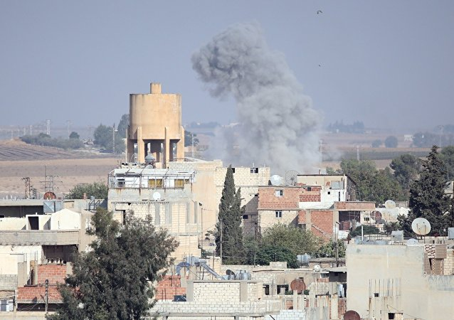 土耳其军方在叙利亚