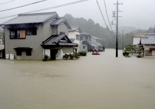 媒体:日本强台风致死规模上升至14人