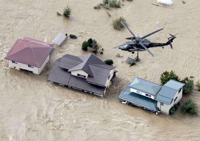 """台风""""海贝思""""已经导致日本33人死亡"""