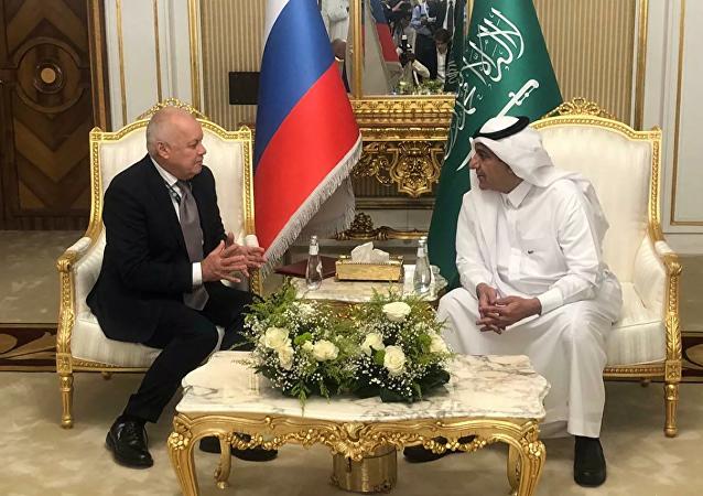 今日俄罗斯将在沙特阿拉伯设立代表处