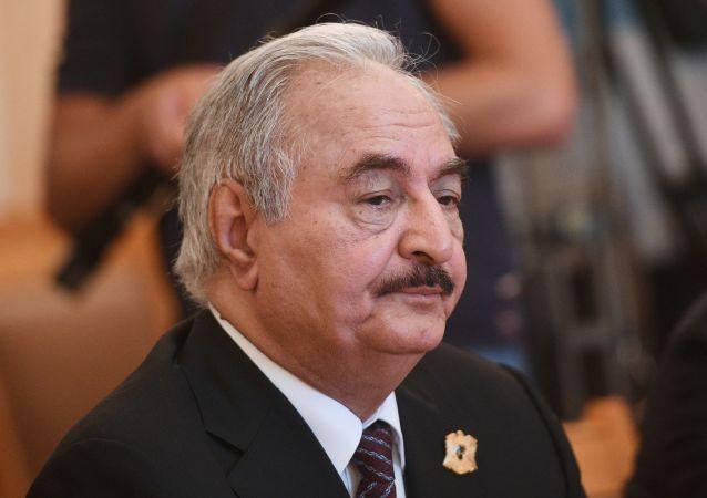 利比亚海军指挥官:哈夫塔尔命令击沉土耳其船只