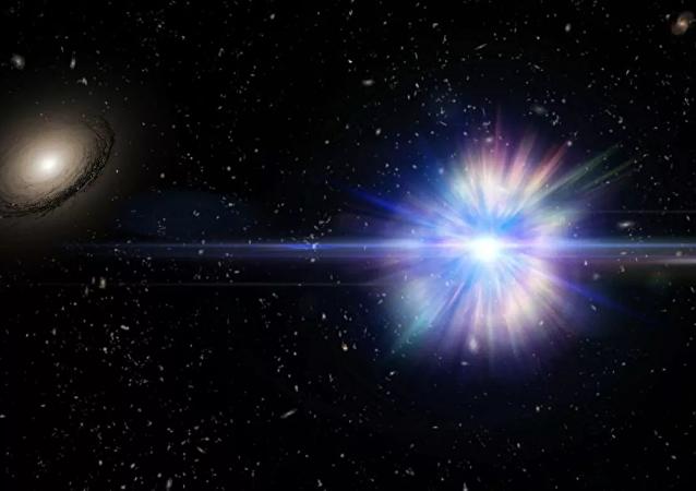 俄太空望远镜拍摄到银河系中心中子星上的热核爆炸