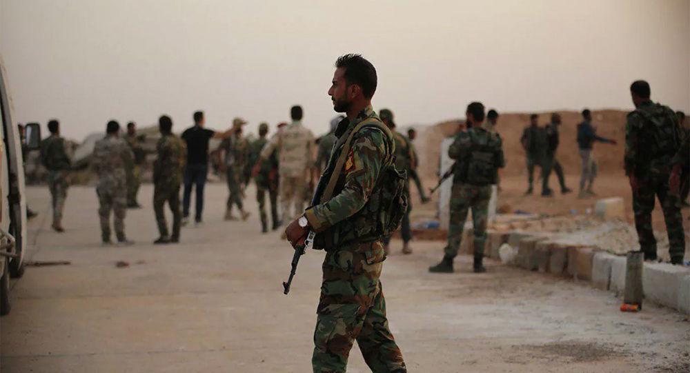 叙政府军5年里首次进入拉卡市,并在该市设立观察点