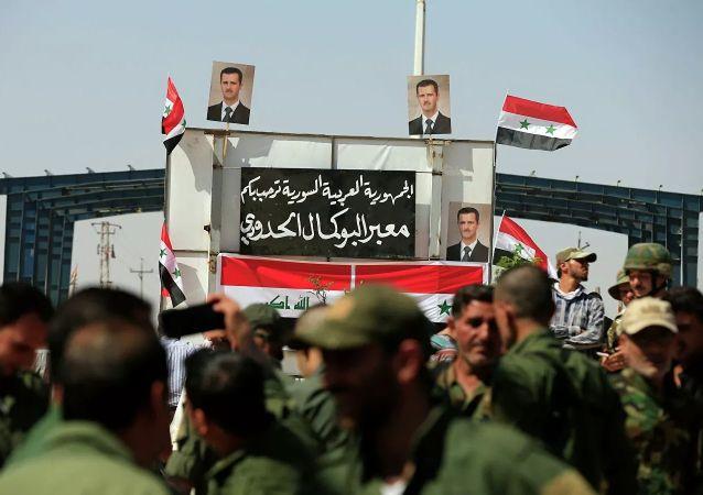 伊拉克-叙利亚边界过境点