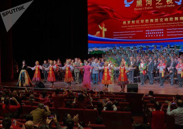 俄中将首次举行在线声乐大赛