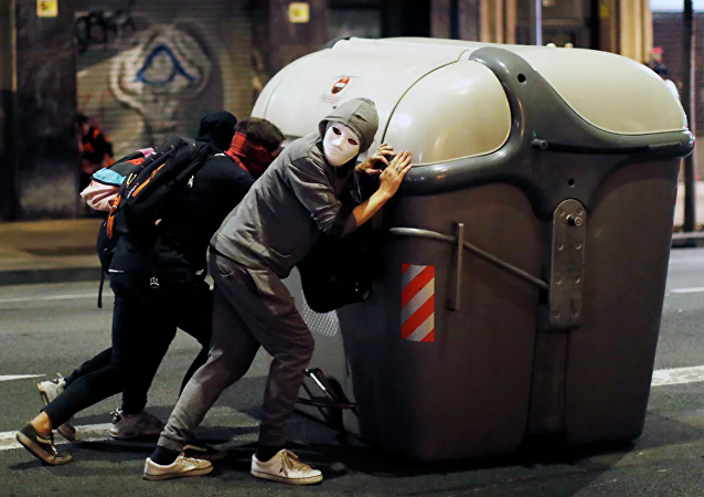 加泰罗尼亚抗议活动