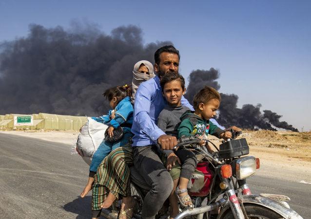 叙利亚 难民