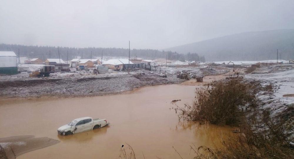 克拉斯诺亚尔斯克边疆区决堤事故中有6人失踪
