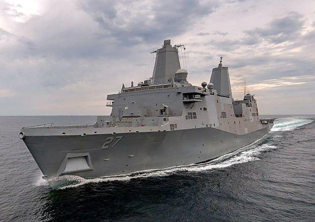 波特兰号两栖船坞运输舰(LPD-27, USS Portland)
