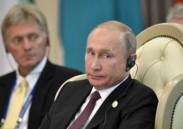 俄总统新闻秘书:克宫现在并未考虑普京接班人问题