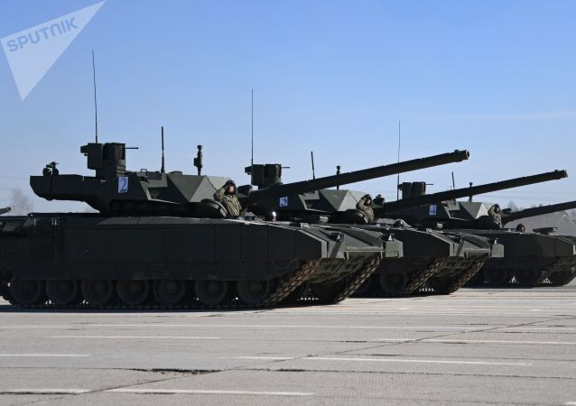 "T-14 ""阿尔马塔""坦克"