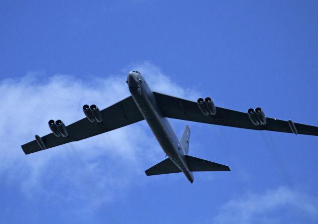 美国空军B-52H同温层堡垒战略轰炸机