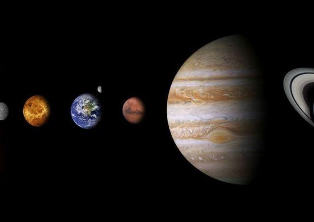 天文学家发现太阳系最大的撞击坑