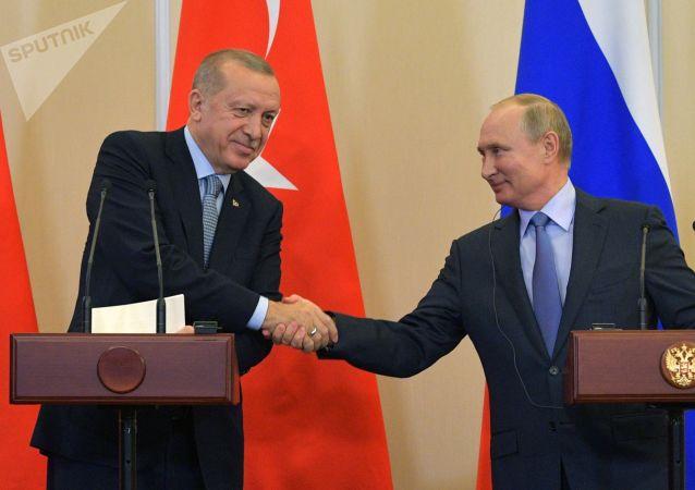 西方媒体称普京和埃尔多安的会谈结果是美国的失败