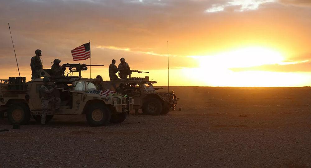 美军在叙利亚