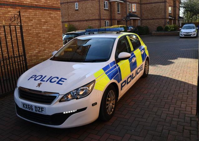 英国警察车