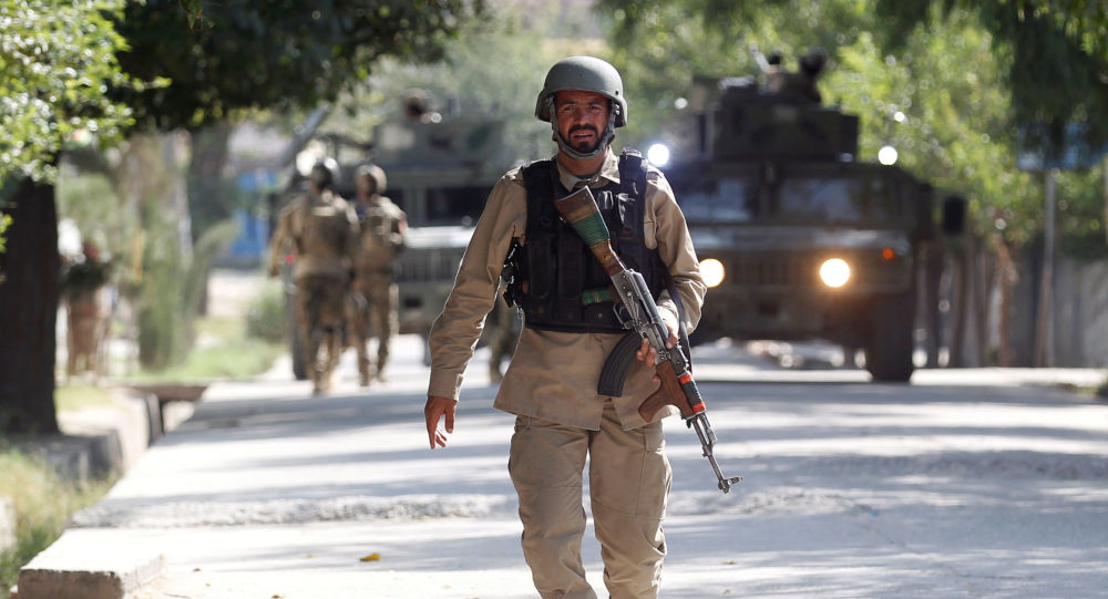 阿富汗安全部队人员
