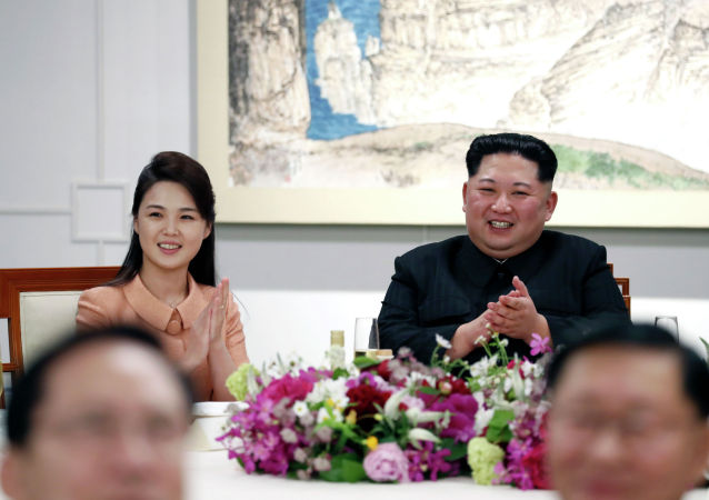 媒体:金正恩夫人时隔四月首次公开露面