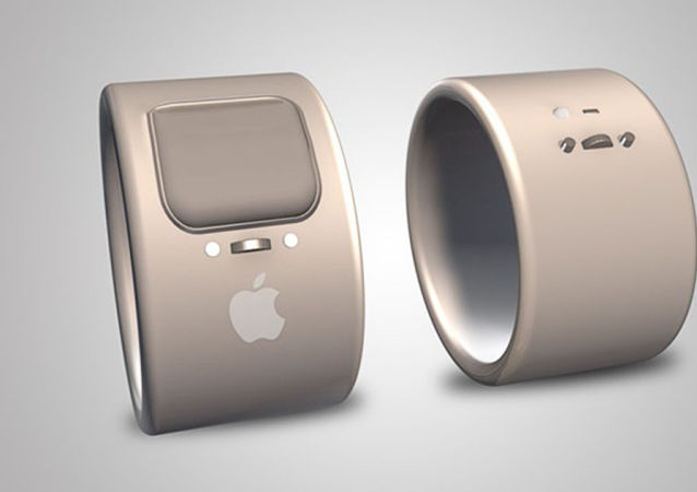 苹果公司申请智戒指专利