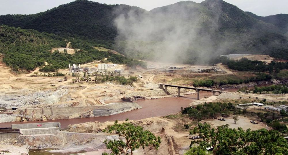 埃塞俄比亚实施在青尼罗河上建设复兴大坝的大型项目