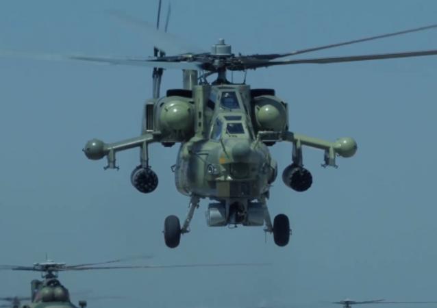 俄武装力量庆祝陆军航空兵日