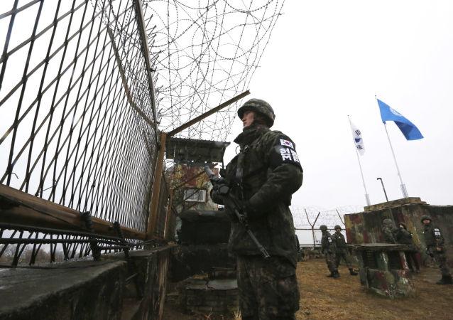 在朝鲜被射杀的韩国公民的家属请联合国开展调查