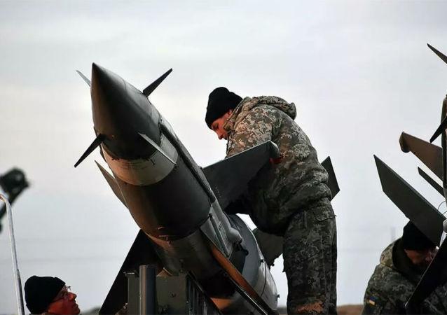 乌克兰进行赤杨-M中程导弹测试