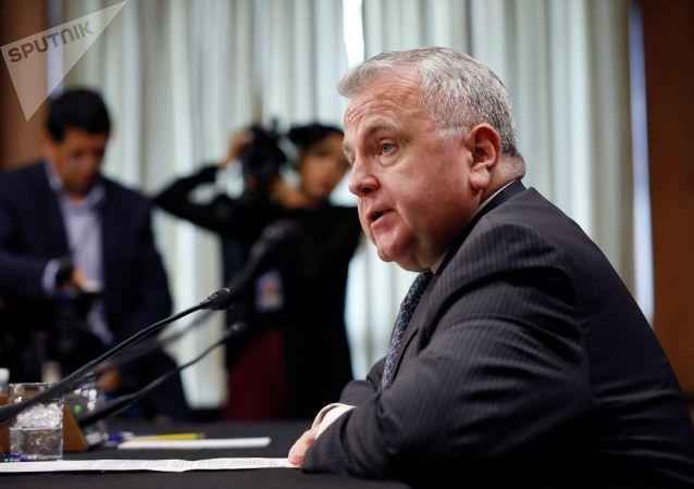 美国新任驻俄大使讲述自己的工作目标