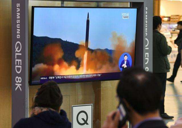 德国强烈谴责朝鲜试射弹道导弹