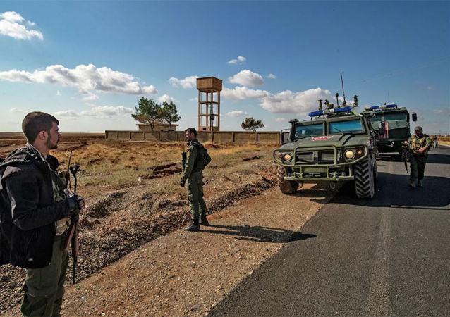 俄罗斯部队在叙利亚