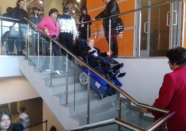 俄产全地形轮椅即将在华开售