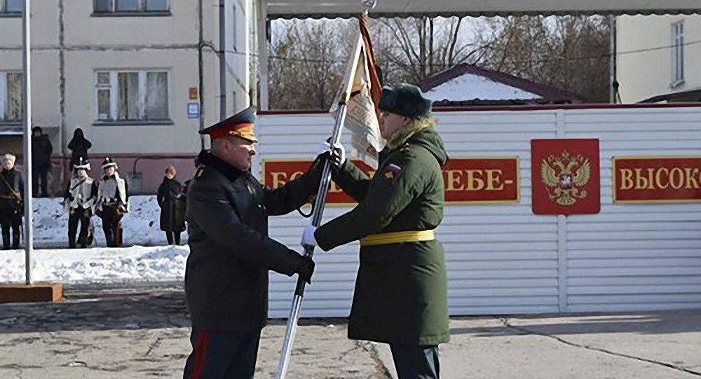 """俄罗斯维和部队被授予""""亚历山大""""荣誉称号"""