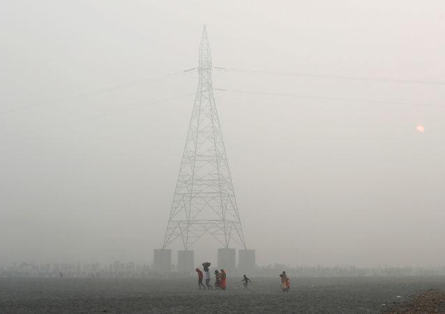 新德里环境状况再度恶化至严重污染水平