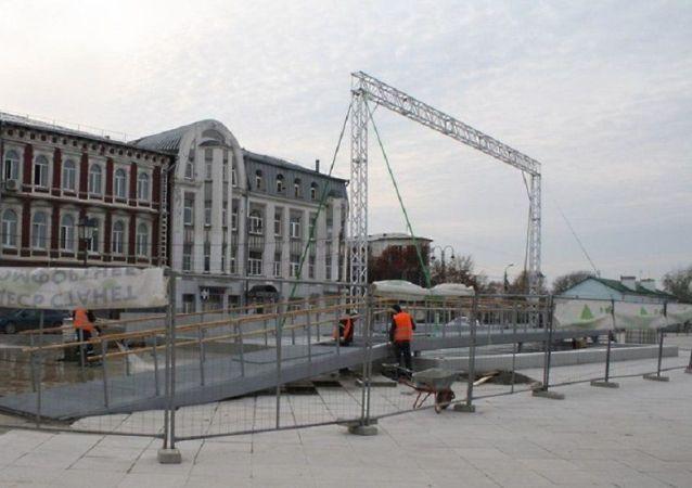 3D投影技术帮助亚历山大·涅夫斯基教堂重现科洛姆纳