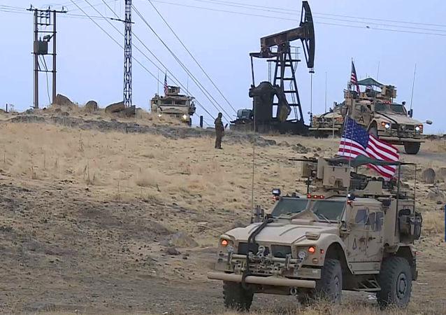 美军方在叙利亚