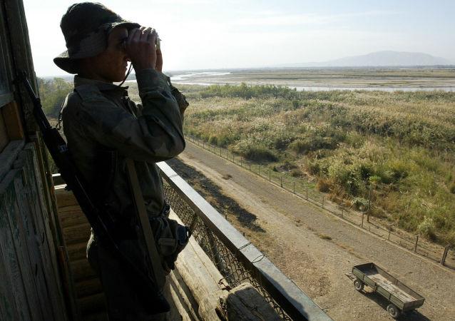 塔吉克边防军