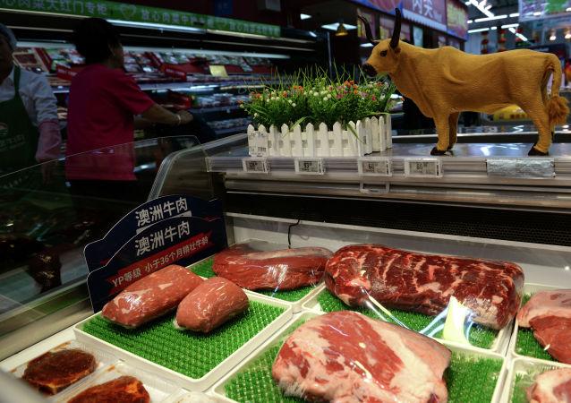 中国海关总署发布公告 解除进口美国牛肉相关限制